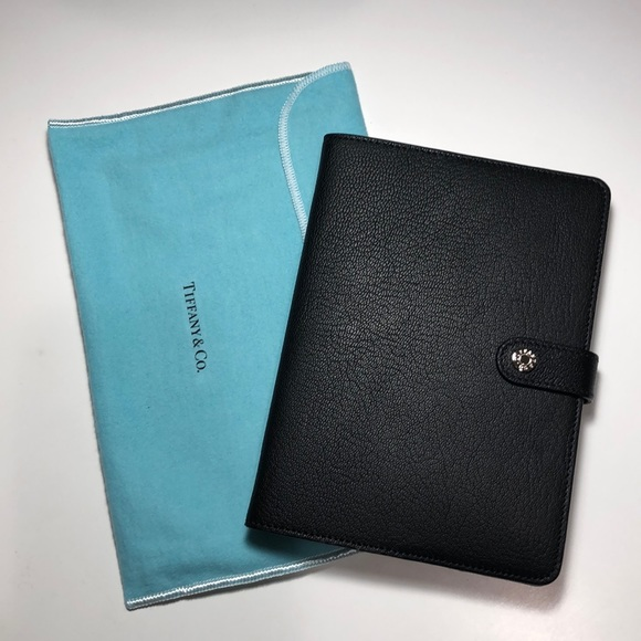 aa80aa4a2c Tiffany & Co. Accessories | Nwot Tiffany Co Leather Journal Cover ...